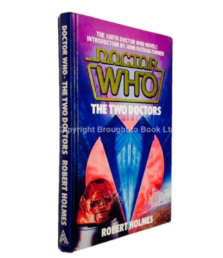 Doctor Who The Two Doctors Signed By Patrick Troughton & Colin Baker WH Allen 1985